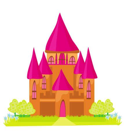 Magic Fairy Tale Princess Castle Stock Vector - 12460067