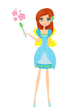 beautiful fairy vector graphic Stock Vector - 12460078