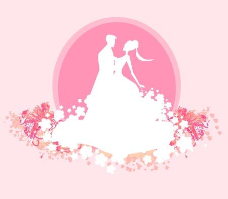 Ballroom dancers - invitation