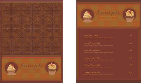 menu coffee shop and restaurant    Vector