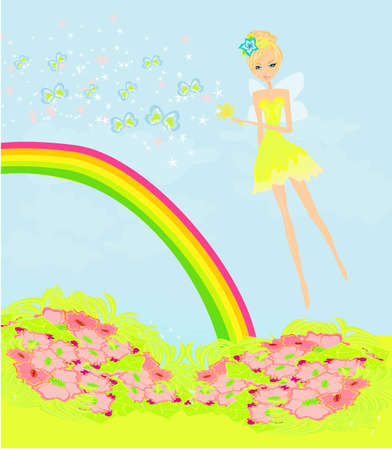 beautiful fairy vector graphic  Stock Vector - 12744380