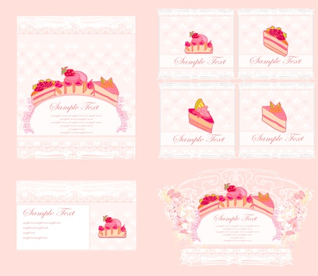 menu coffee shop and restauran  Vector