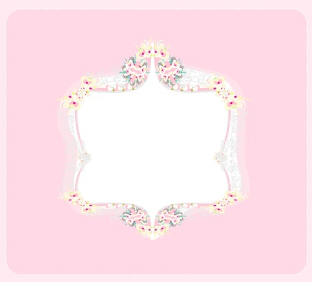 abstract frame with space for your text  Stock Vector - 12885765