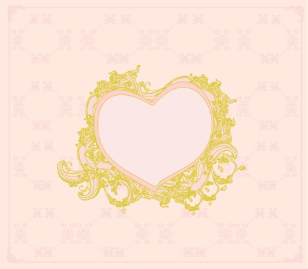 Valentines Day Greeting card Stock Vector - 12885748