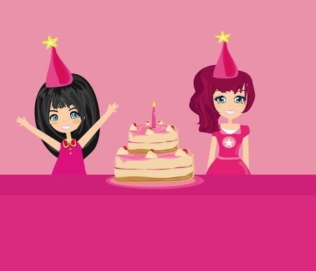 Vector birthday party  Vector