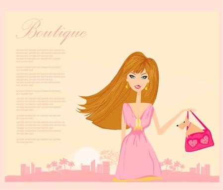 sexy skirt: fashion girl Shopping