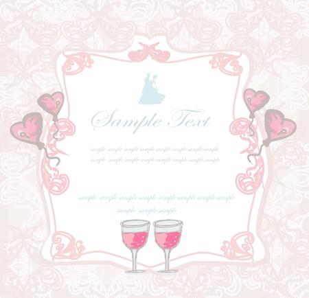 wedding night: Ballroom dancers - invitation