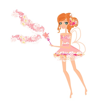 beautiful fairy vector graphic  Stock Vector - 12947788
