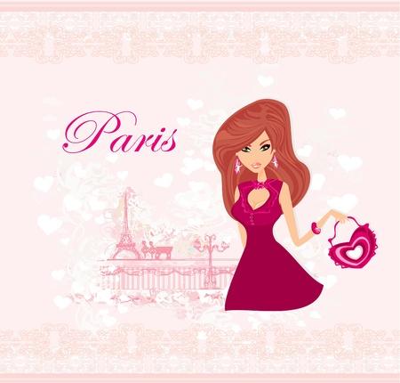 shoptalk: beautiful travel girl in Paris