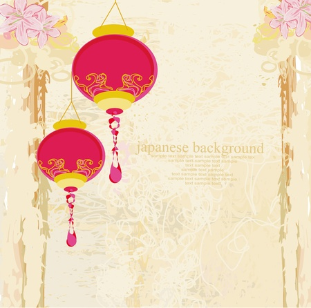 Chinese New Year card  Stock Vector - 13034109