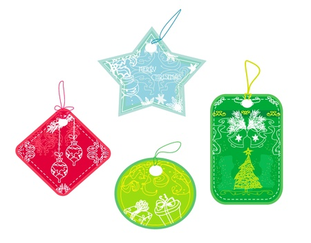 Christmas price tags collection  Stock Vector - 13034131