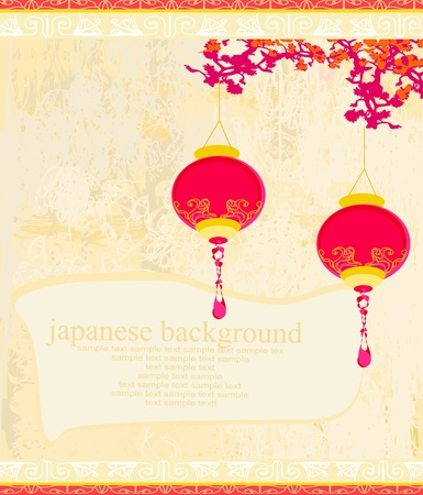 Chinese New Year card Stock Vector - 13034173