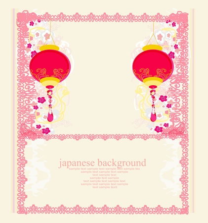 Chinese New Year card Stock Vector - 13034171