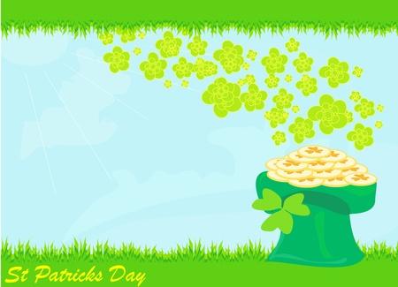 saint patrick's day: llustration of Saint Patrick s Day