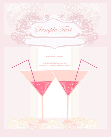 wedding reception decoration: Invitation To Birthday Cocktail Party