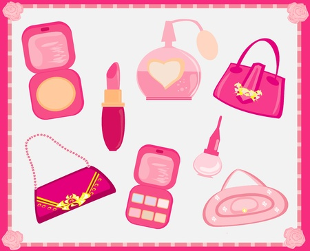 Accessories fashion Vector Set  Vector