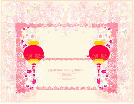 Chinese New Year card Stock Vector - 13147503