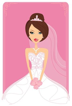 getting a bride: Beautiful bride