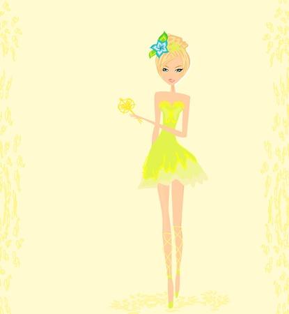 beautiful fairy vector graphic  Stock Vector - 13381277
