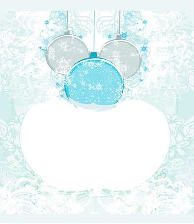 Christmas Framework style card