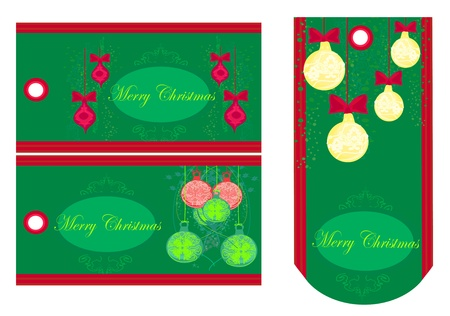 Christmas price tags collection Stock Vector - 13571341