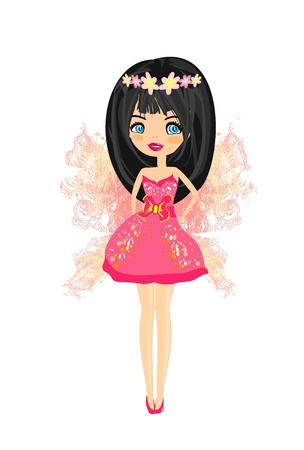 beautiful fairy graphic  Stock Vector - 13578755