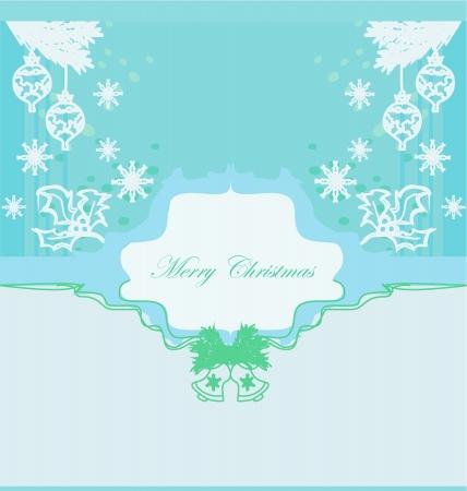 Christmas Framework style card  Stock Vector - 13677777