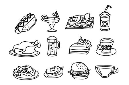 food icon set: Food Icon Set