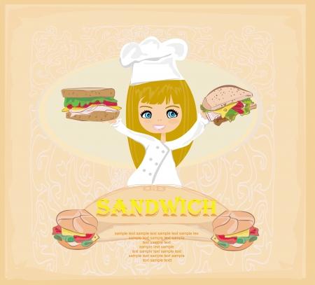 Template designs of fast food menu  Vector