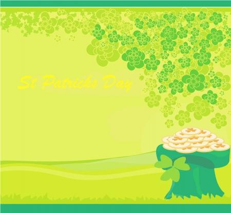 saint patrick��s day: llustration of Saint Patrick s Day