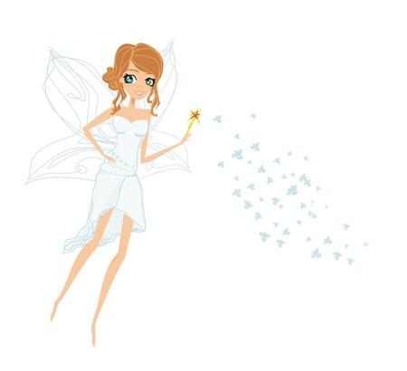 beautiful fairy vector graphic Stock Vector - 13933458