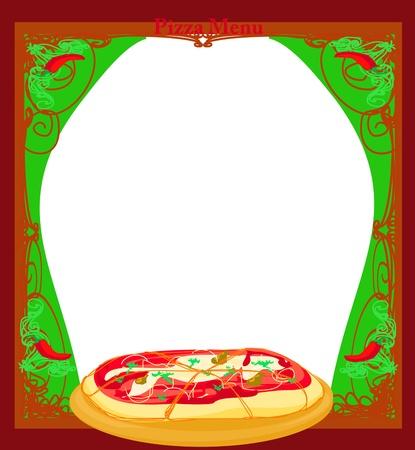 pizza delivery: Pizza Menu Template