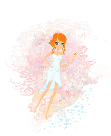 beautiful fairy vector graphic Stock Vector - 14067924