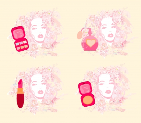 blush: Make-up girl - poster set