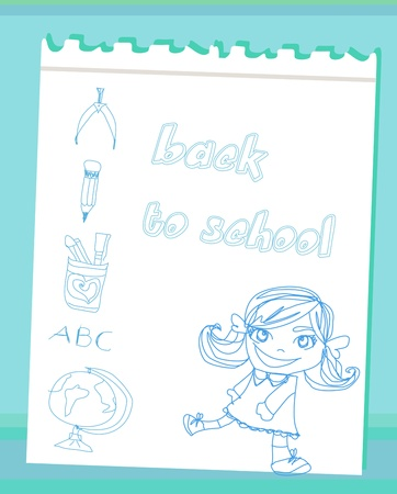 back to school Stock Vector - 14328073