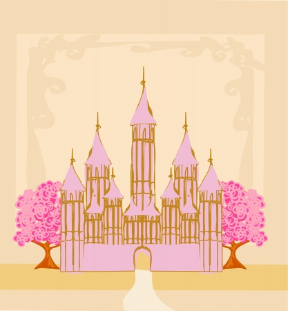 Magic Fairy Tale Princess Castle  Stock Vector - 14416962