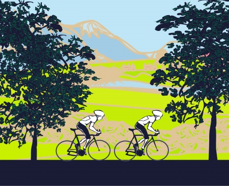 pedals:  Cycling Poster