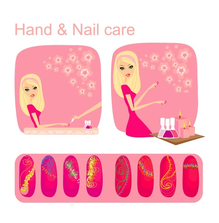 manicure salon: Hand & Nail care