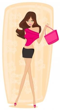 shoptalk:  fashion girl Shopping