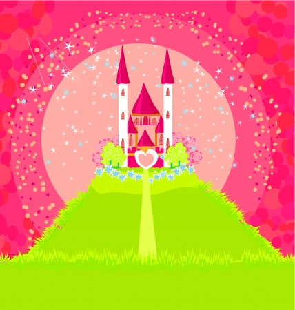 Magic Fairy Tale Princess Castle Stock Vector - 15093062