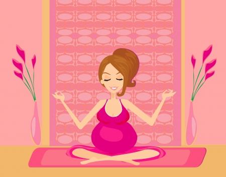bekleyen: hamile kadın için yoga