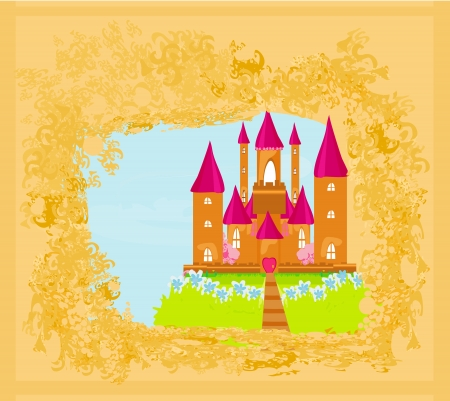 Magic Fairy Tale Princess Castle  Stock Vector - 15396075