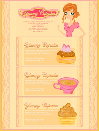 menu coffee shop and restaurant  Vector