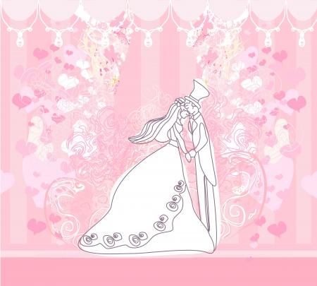 Hochzeit Tanzpaar Hintergrund