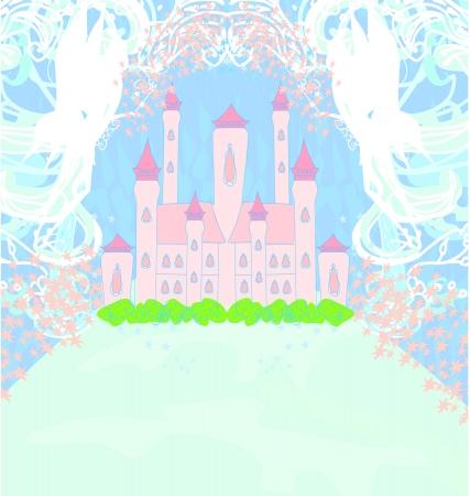 Magic Fairy Tale Princess Castle Stock Vector - 15802449