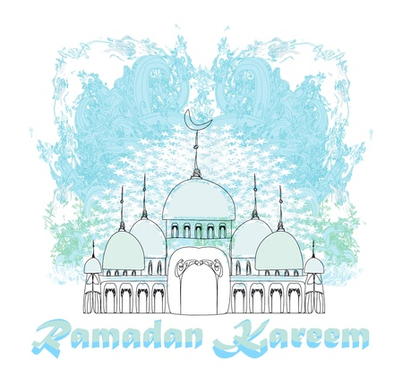 Illustration of Mosque  Stock Vector - 16138863