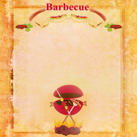 Barbecue Party Invitation  photo