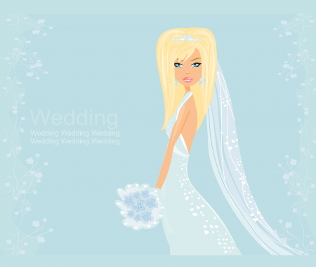 bridesmaid:  Beautiful bride