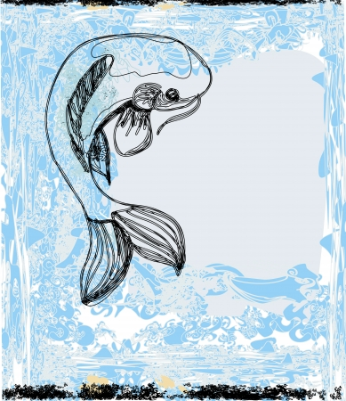coi carp:  japanese koi background