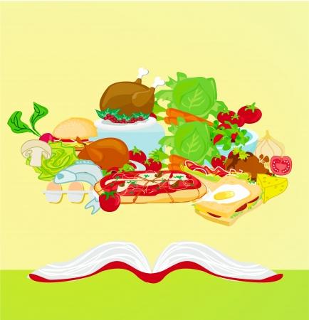 Cookbook Stock Vector - 17224859